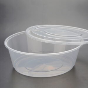 ROUND PLASTIC CONTAINERS 200ML