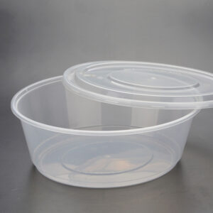 ROUND PLASTIC CONTAINERS 525ml