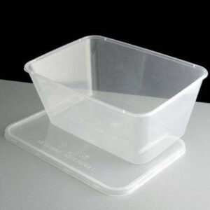 HEAVY DUTY CONTAINERS + LIDS 1000CC