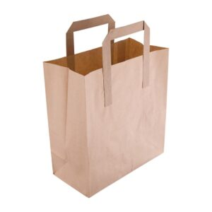 8 X 8 BROWN PAPER CARRIER BAGS