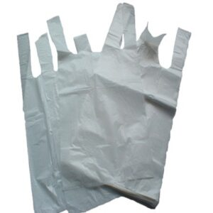 "(1 X 1000) JUMBO HT WHITE ""GALAXY"" CARRIER BAGS"
