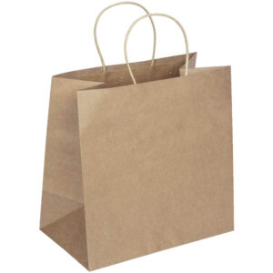 12 X 12 BROWN PAPER CARRIER BAGS