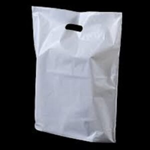(10 X 100)  S4 WHITE CARRIER BAGS