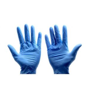 (10 x 100) BLUE VINYL X LARGE P/F GLOVES