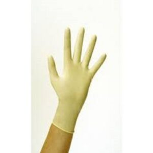 (10 x 100) LATEX CLEAR LARGE P/F GLOVES