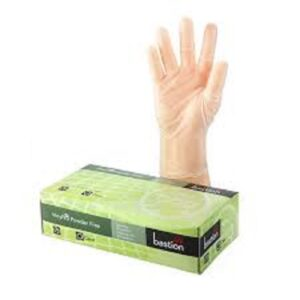 (10 x 100) LATEX CLEAR SMALL P/F GLOVES