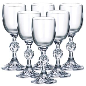 (20 X 50) 5 CL CRYSTAL TASTING GLASSES