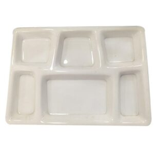 6 COMPARTMENT PLASTIC PLATES