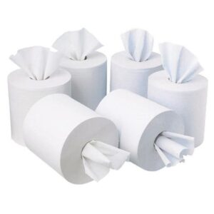 (6 x 1) EMB WHITE CENTREFEED 400 SHEETS 178mm