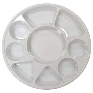 9 COMPARTMENT HEAVY DUTY PLASTIC PLATES